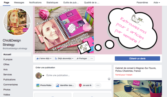 Extrait pagefacebook Chic&Design